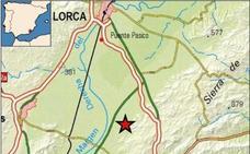 Un leve temblor de magnitud 2 se deja notar de madrugada en Lorca y Puerto Lumbreras