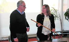 El Consistorio de San Pedro recupera el bastón de mando del alcalde Antonio Tárraga