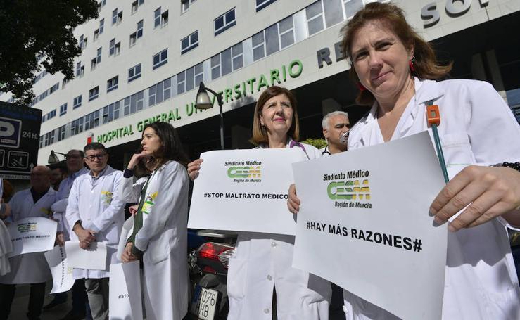 Los médicos de la Región se movilizan para exigir unas condiciones laborales dignas