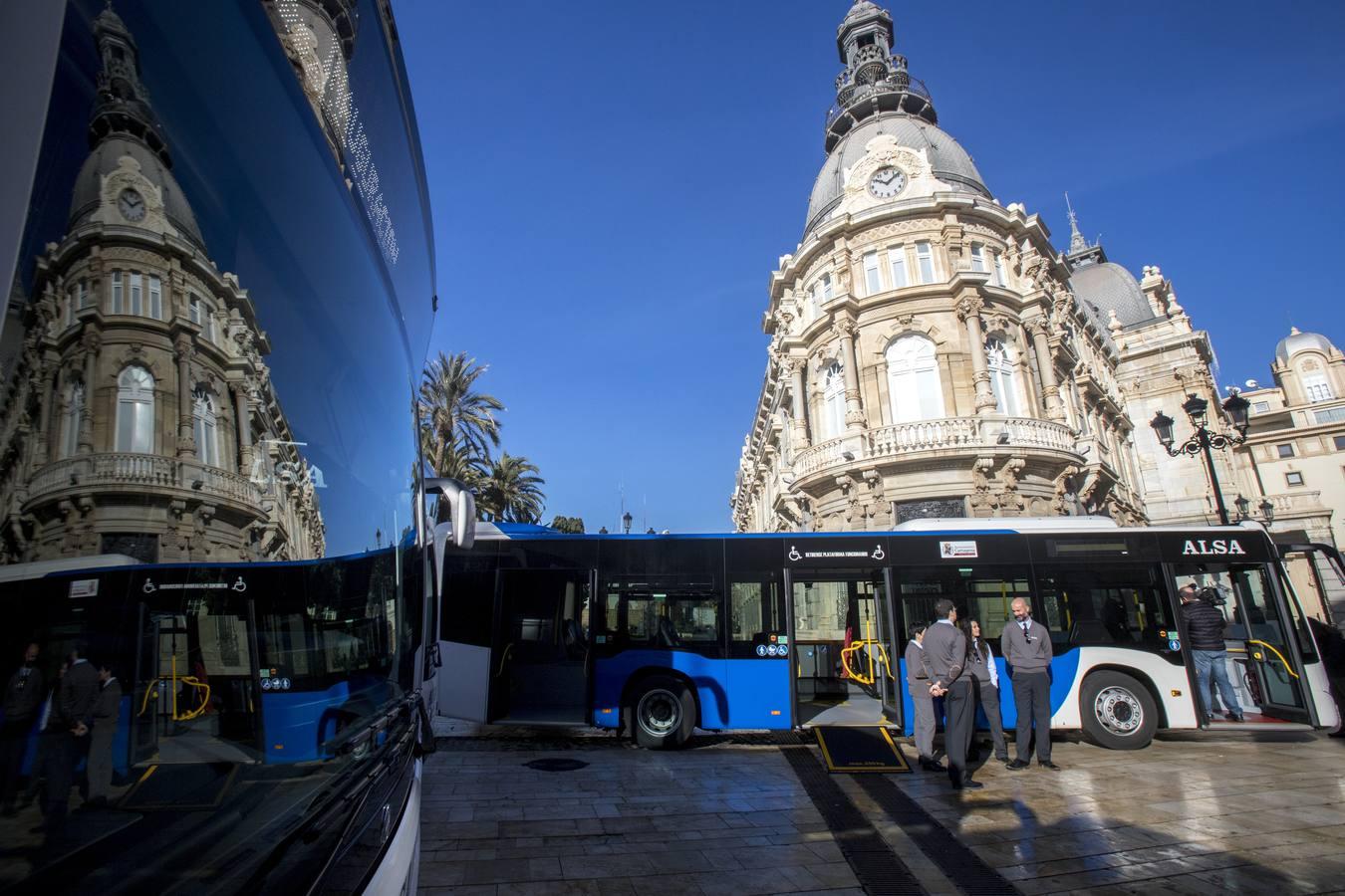 Los autobuses urbanos de Cartagena serán menos contaminantes