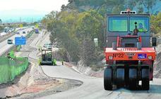 El nuevo acceso sur a la fortaleza de Lorca se abrirá al tráfico en dos semanas