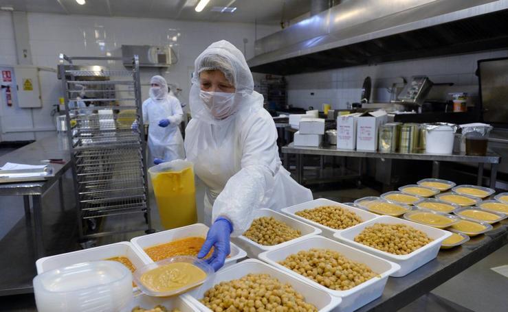 Una planta en el polígono Oeste producirá 40.000 kilos diarios de ensaladilla