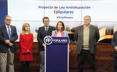 El PP defiende que los bancos también puedan beneficiarse de los desahucios exprés de 'okupas'