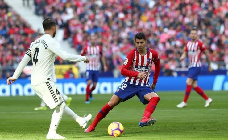 Las mejores imágenes del Atlético de Madrid-Real Madrid