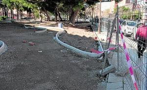 La renovación del Parque Sauces y otras mejoras urbanas encaran la recta final