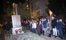 Tributo a las víctimas del nazismo en Cartagena