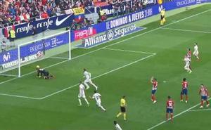 El Atlético se desinfla ante el Real Madrid (1-3)
