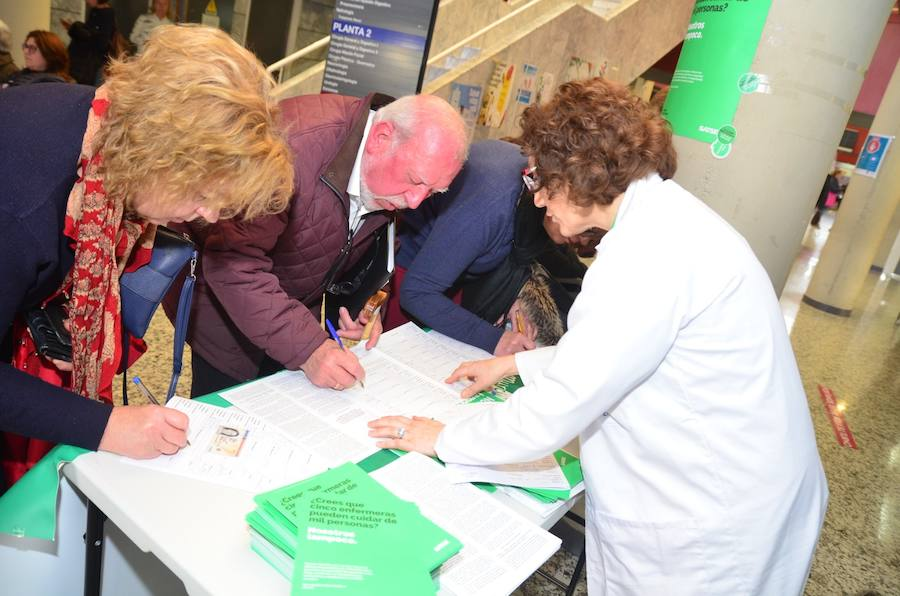 Denuncian que hacen falta 7.300 enfermeras más en la Región de Murcia