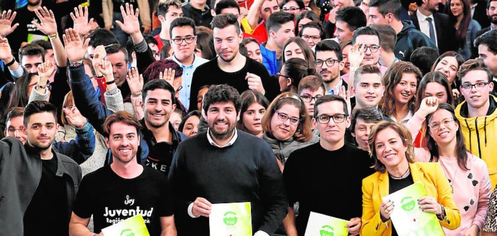 La Región crea su primer Plan de Juventud con una inversión de 125 millones en cinco años