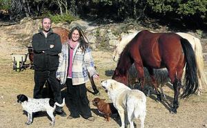 La pareja española que lo ha dejado todo para crear un santuario de animales