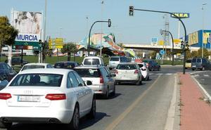 Los accesos a Murcia soportaron 124 millones de desplazamientos