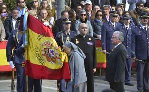 Multitudinaria jura de bandera en Murcia