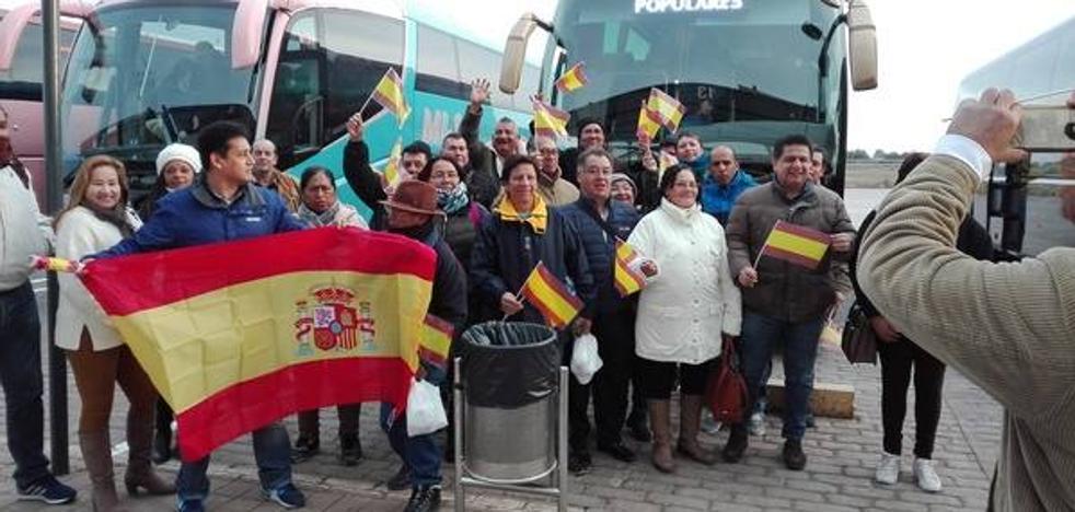 El viaje desde Murcia a Madrid, en fotos
