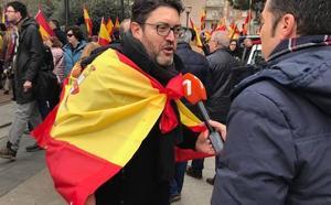 Miguel Sánchez: «Hoy miles de españoles hemos dicho 'sí' a la Constitución y la Justicia»