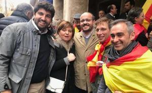 Así hemos seguido minuto a minuto la delegación murciana en la manifestación de Colón