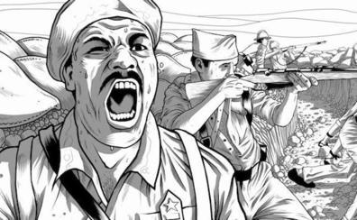 Un afroamericano al mando en la Guerra Civil española