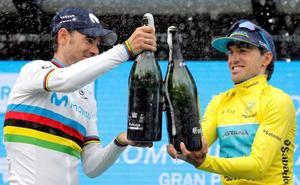Plata para Valverde en una Volta que corona a Izaguirre