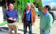 La depuradora de Inazares dispondrá de agua apta para riego a final de año
