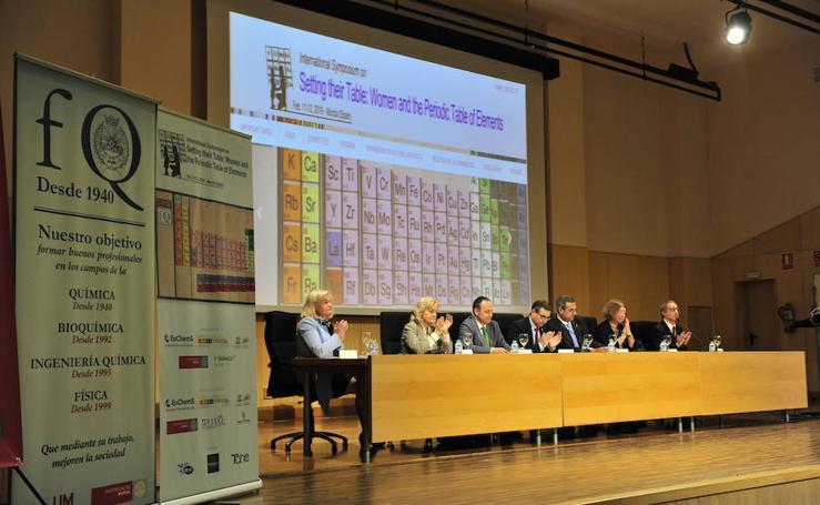 Simposio Internacional sobre las Mujeres y la Tabla Periódica de los Elementos