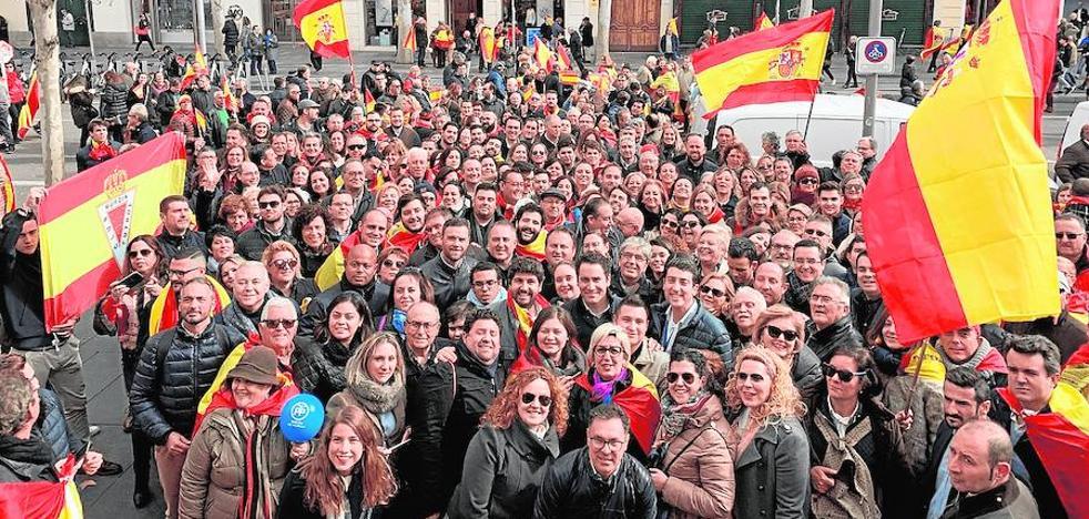 «¡Se nota, se siente, Murcia está presente!»
