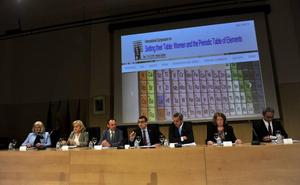 La UMU rinde tributo a las mujeres químicas y a su contribución a la tabla periódica