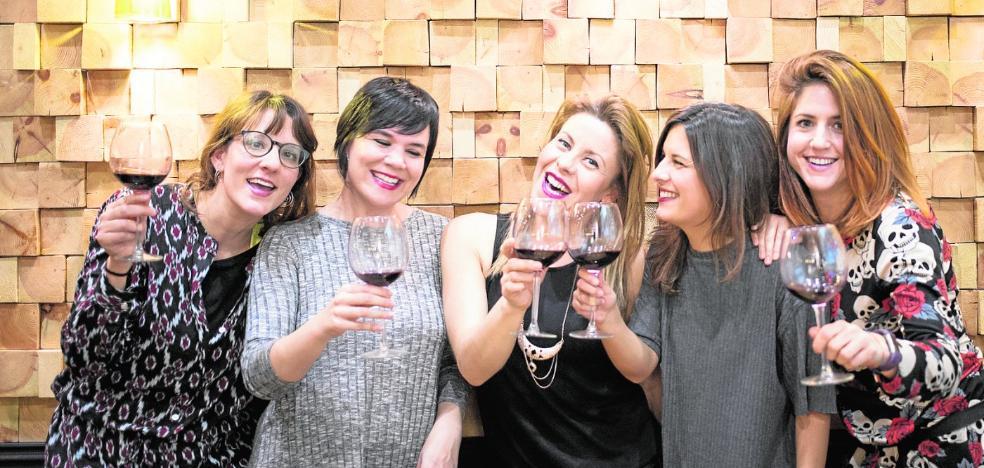 Ladies, wine & desing, solo para ellas