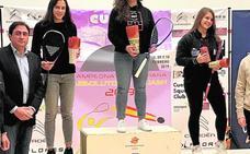 Cristina Gómez no se cansa de ganar