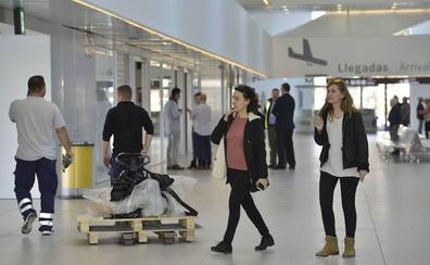 Aena contabiliza 20.004 pasajeros en Corvera y 21.559 en San Javier en el mes de enero