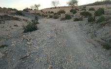 Los daños en La Aljorra por las lluvias de noviembre siguen sin reparar