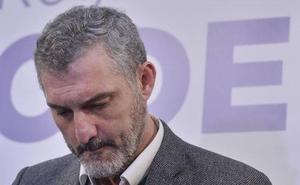 Cinco dimisiones en la dirección regional de Podemos