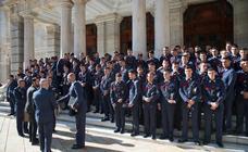 Recorrido turístico de 97 nuevos alumnos de la AGA