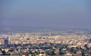 Murcia volvió a superar el nivel de contaminación en aire los días 8 y 9 de febrero