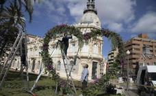 Parejas de Cartagena podrán fotografiarse en un corazón vegetal por San Valentín