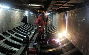 Navantia comienza a llamar a empresas auxiliares para iniciar el montaje del S-82