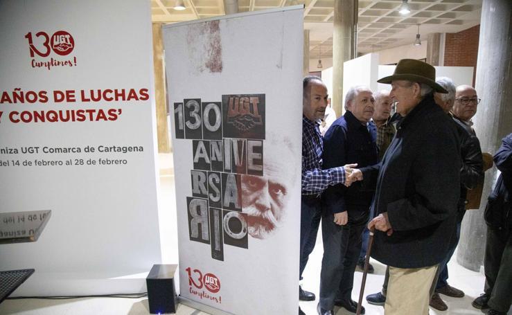 UGT muestra sus logros en 130 añós de historia