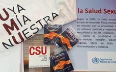 La UMU y Control reparten preservativos en el Día Europeo de la Salud Sexual y Reproductiva