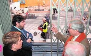 La Caridad irá en verano a Murcia para su segunda restauración en 25 años en el taller regional
