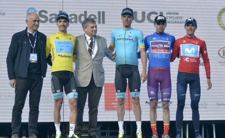 Pello Bilbao, ganador de la primera etapa de la Vuelta Ciclista a la Región de Murcia