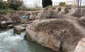 Huermur denuncia el estado de abandono del histórico Molino de la Pólvora