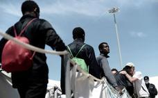 Murcia es la tercera provincia que acoge más inmigrantes del 'Aquarius'