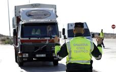 La DGT despliega una campaña de control de camiones, furgonetas y autobuses en la Región