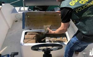 Cae una banda criminal que introducía hachís en España a través del Mar Menor