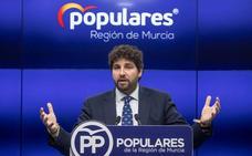 López Miras afirma que ya tiene «alguno» de los nombres para las listas del PP en las autonómicas