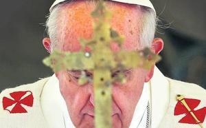 La cruz del Papa Francisco