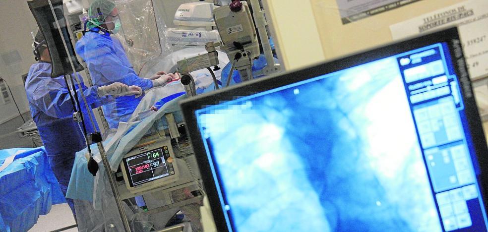 La falta de anestesistas deja a medio gas los quirófanos del Hospital Santa Lucía