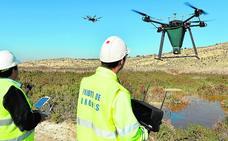 Drones frenan la eclosión del mosquito tigre en uno de sus principales focos