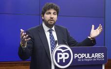 López Miras pide a Ciudadanos que aclare si pactará con el PSOE en la Región