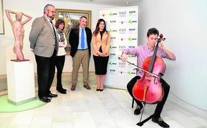 El aeropuerto acogerá recitales de músicos de la Orquesta Sinfónica