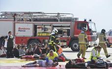 Corvera 'se engrasa' ante una emergencia