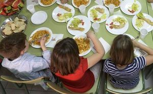 Comienza el plazo para solicitar las ayudas de comedor escolar en la Región hasta el 14 de marzo